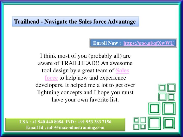 Trailhead - Navigate the