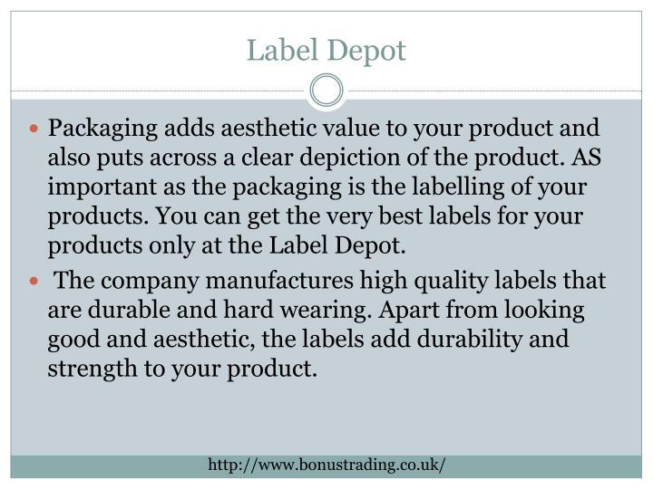 Label Depot