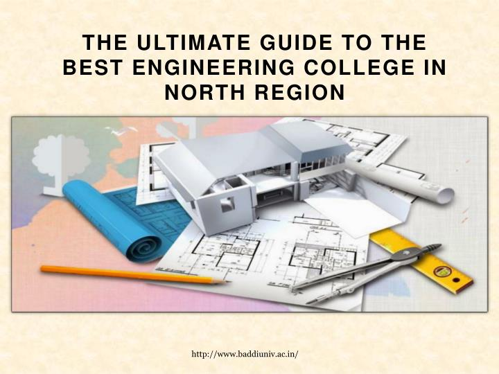 The ultimate guide to the best engineering college in north region
