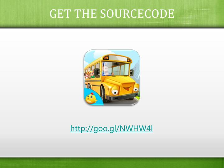GET THE SOURCECODE