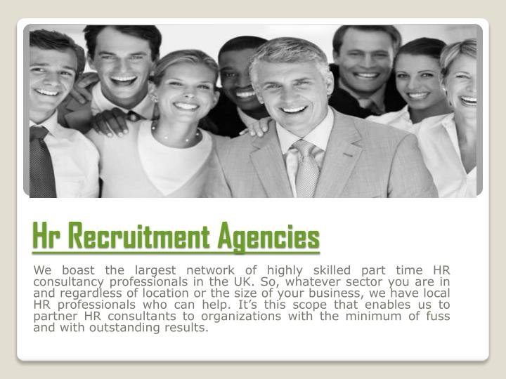 Hr Recruitment Agencies