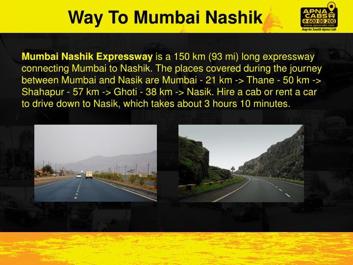 Way To Mumbai
