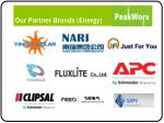 our partner brands energy
