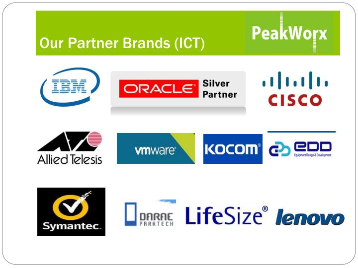 Our Partner Brands (ICT)