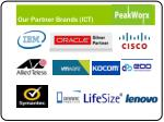 our partner brands ict