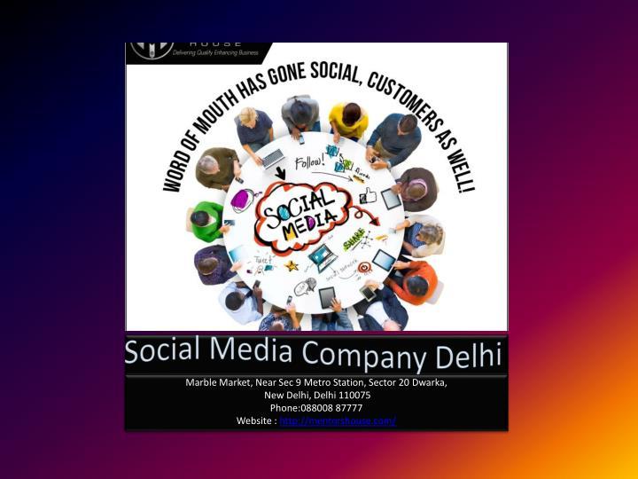 Social Media Company Delhi