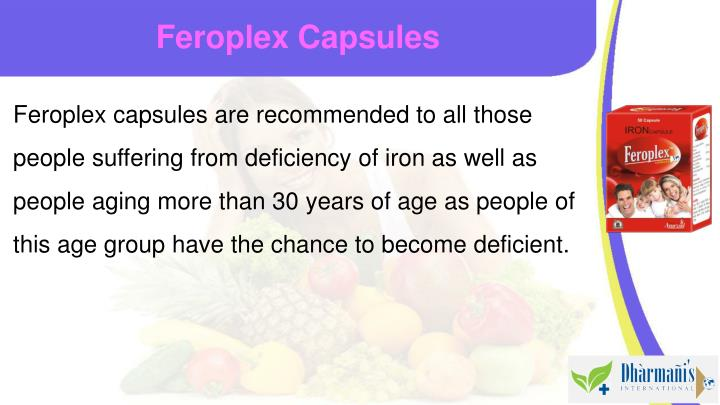Feroplex Capsules