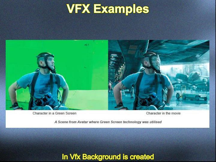 VFX Examples
