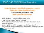 bshs 345 tutor real education23