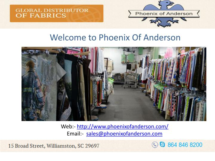Welcome to Phoenix Of Anderson