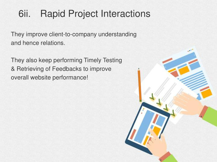 6ii.Rapid Project Interactions