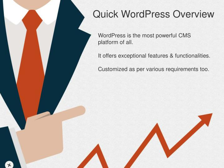 Quick WordPress Overview