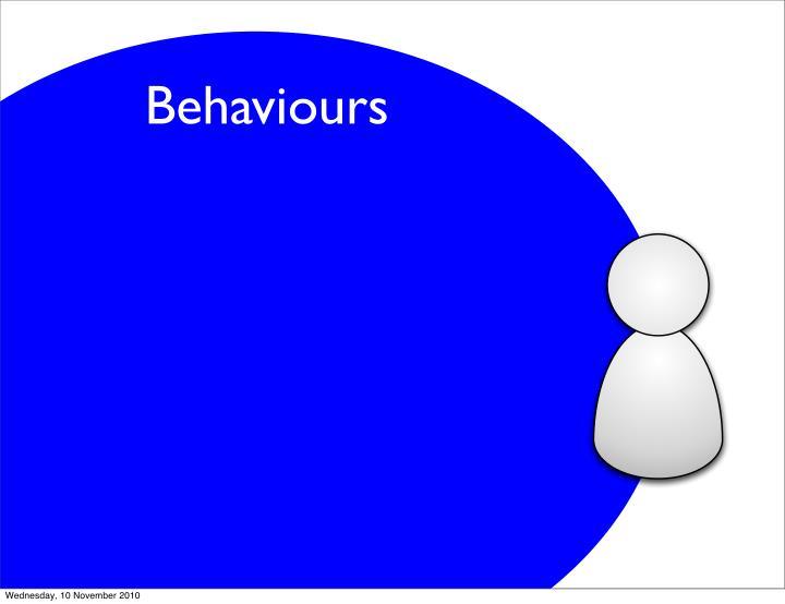 Behaviours
