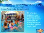 about watersafe swim school