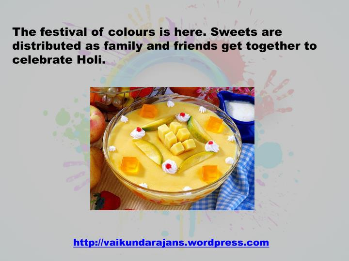 The festival of