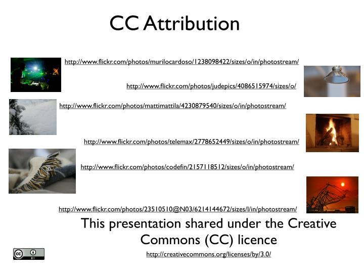 CC Attribution