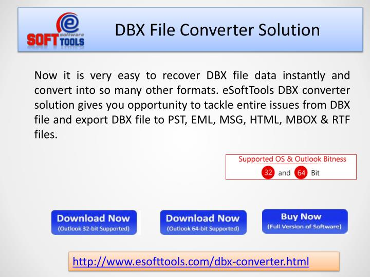 DBX File Converter Solution