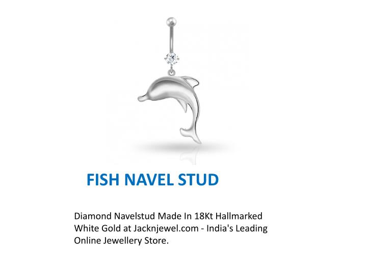 FISH NAVEL STUD