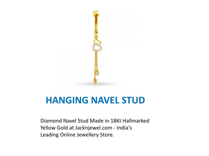 HANGING NAVEL STUD