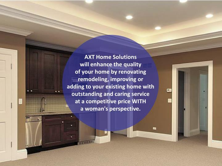 AXT Home Solutions