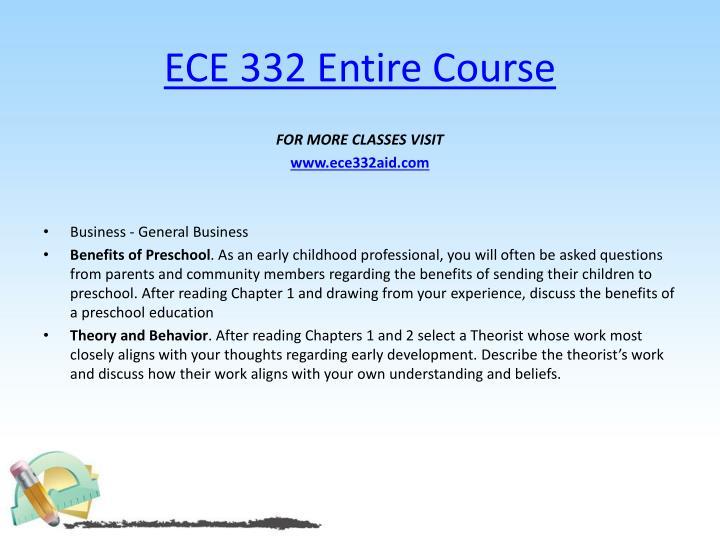ECE 332 Entire Course