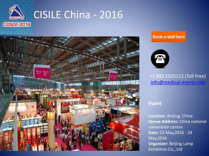 CISILE China - 2016