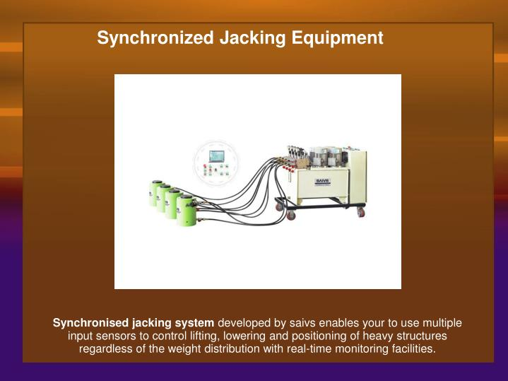 Synchronized Jacking Equipment