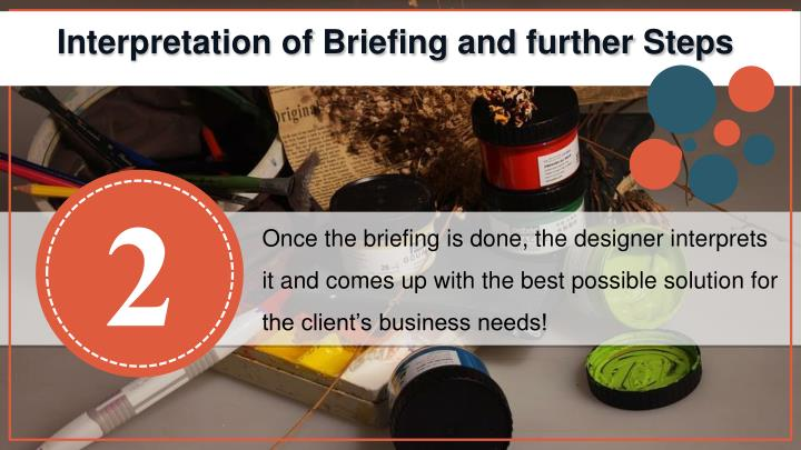 Interpretation of Briefing and further Steps