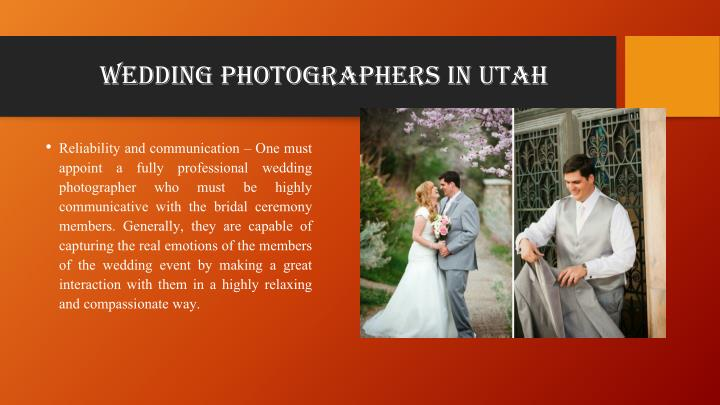 wedding photographers in