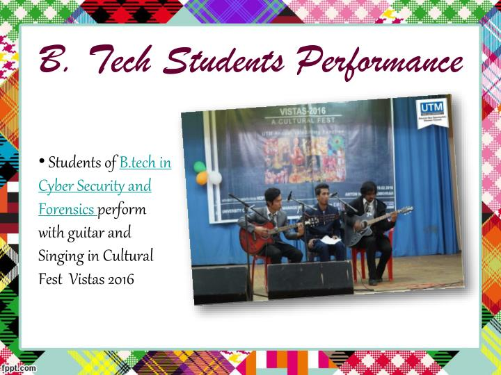 B. Tech Students Performance