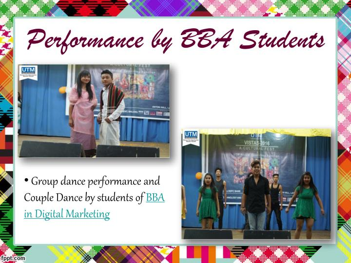 Performance by BBA Students