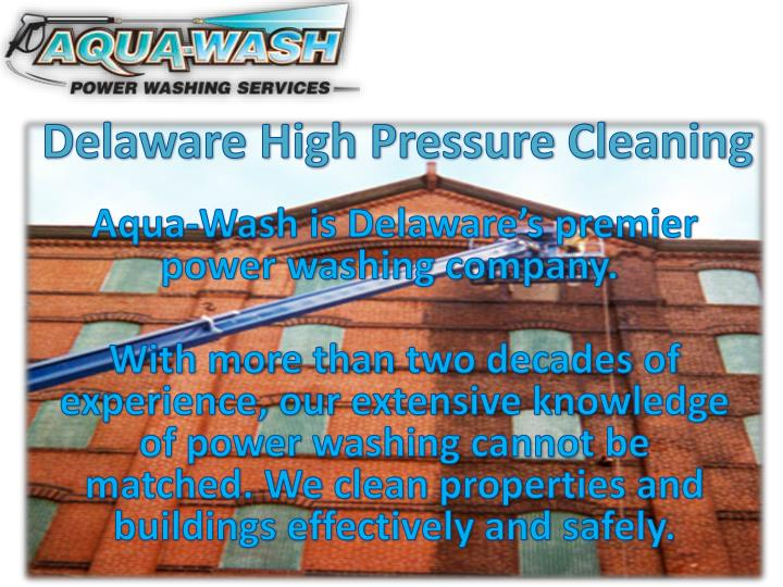 Delaware High Pressure Cleaning