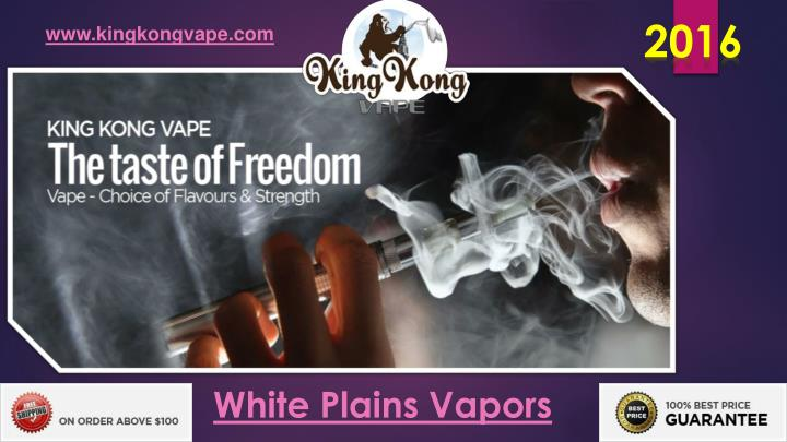 White plains vapors