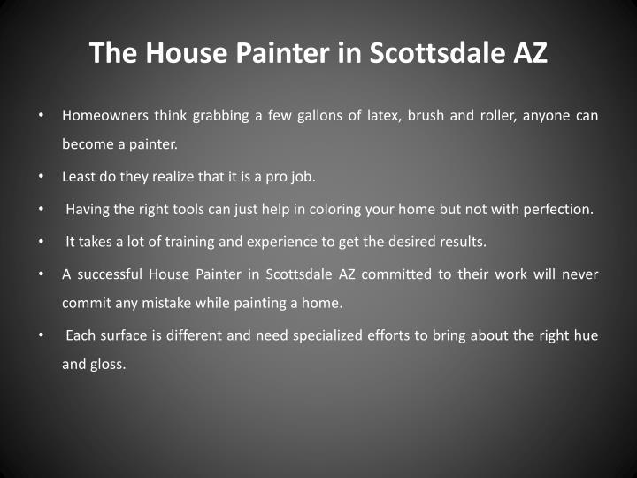 The house painter in scottsdale az