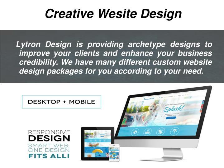 Creative Wesite Design