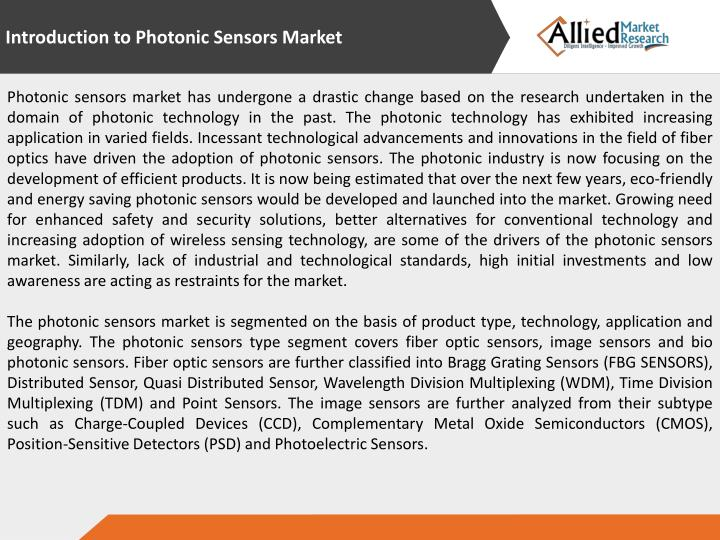 Introduction to Photonic Sensors Market