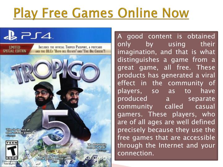 Play Free Games Online Now