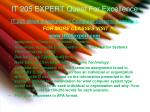 it 205 expert quest for excellence3