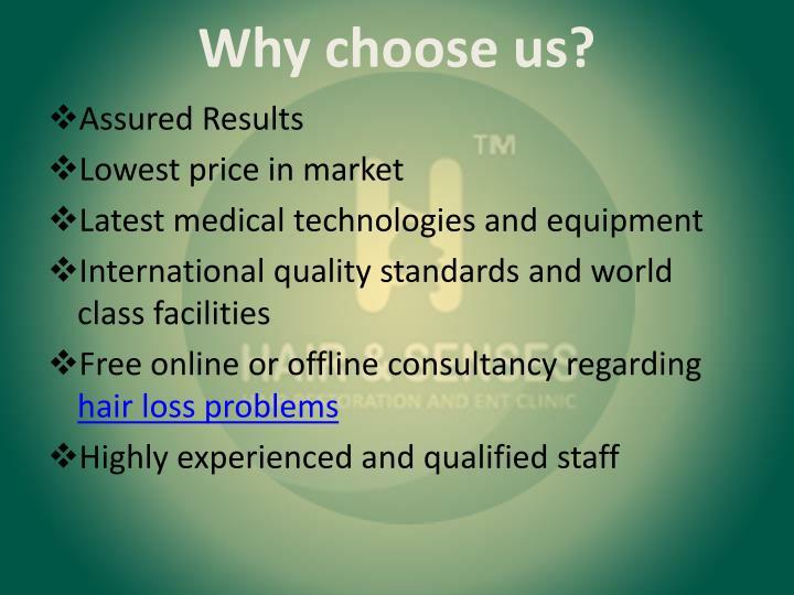 Why choose us?