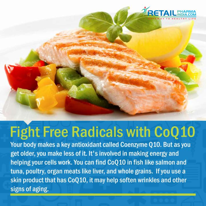 Fight Free Radicals with CoQ10