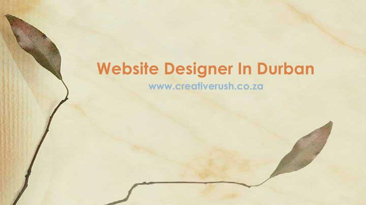 Website designer in durban