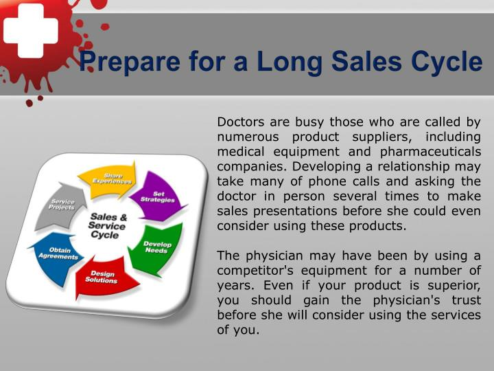 Prepare for a Long Sales Cycle