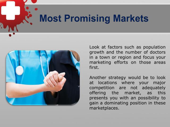 Most Promising Markets