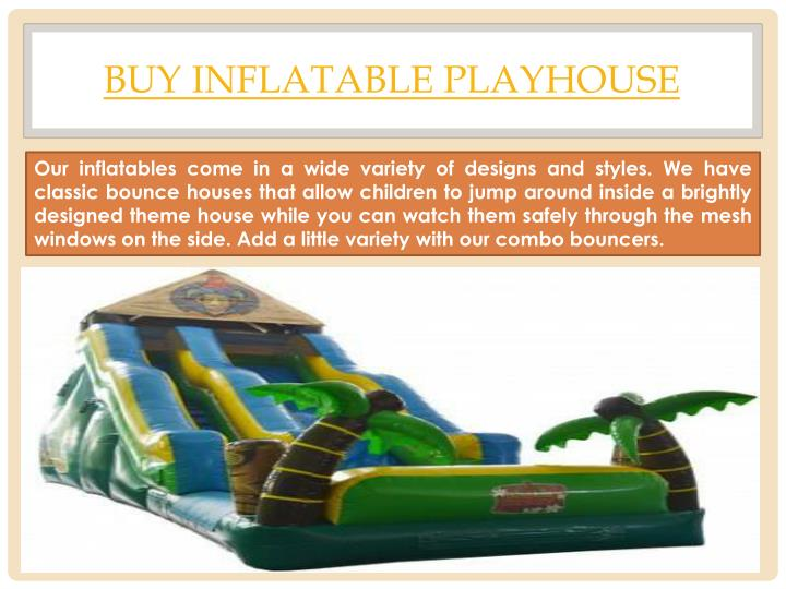 buy inflatable playhouse