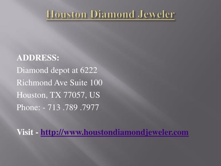 Houston Diamond Jeweler