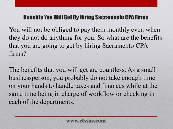 Benefits you will get by hiring sacramento cpa firms2