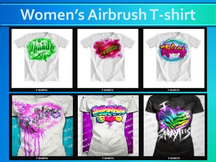 Women's Airbrush T-shirt