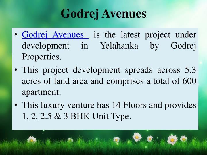 Godrej Avenues