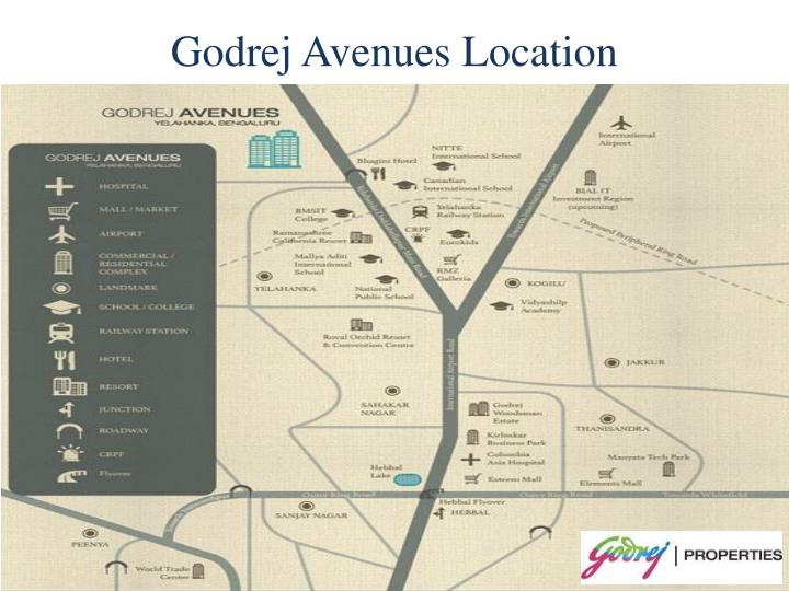 Godrej Avenues Location