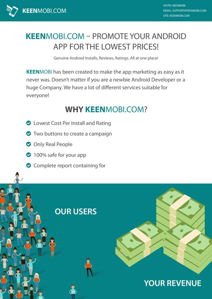 Promote your android apps keenmobi com